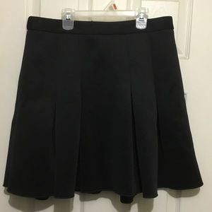 Worthington black pleated skirt size 12p